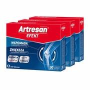 Zestaw 3x Artresan Efekt, kapsułki, 30 szt.