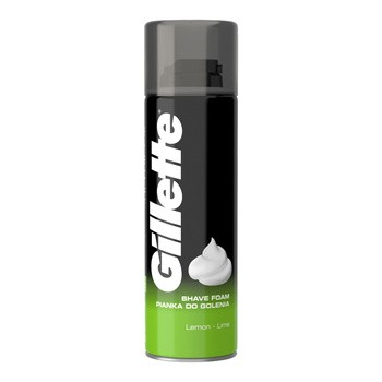 Gillette Classic Lemon, pianka do golenia, 200 ml