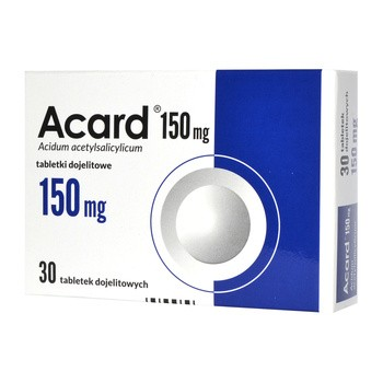 Acard, 150 mg, tabletki dojelitowe, 30 szt.