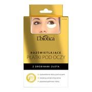 L`Biotica, rozświetlające płatki pod oczy, 3 x 2 szt.