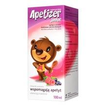 Apetizer Junior (Apetizer), syrop, o smaku malinowo-porzeczkowym, 100 ml