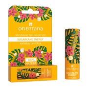 Orientana, naturalny peeling do ust Sugarcane Energy, 4,2 g