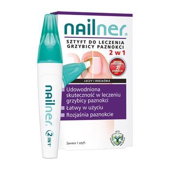 Nailner, sztyft do leczenia grzybicy paznokci 2w1, 4 ml