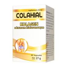 Colahial, kapsułki z kolagenem z kwasem hialuronowym, 60 szt.