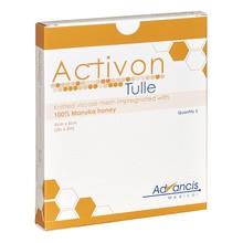 Activon Tulle, opatrunek nasączony miodem Manuka, 5 x 5cm, 5 szt.