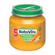 BoboVita, obiadek marchewka z ziemniaczkami i cielęciną, 5 m+, 125 g