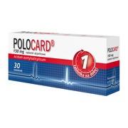 Polocard,150 mg, tabletki dojelitowe, 30 szt.