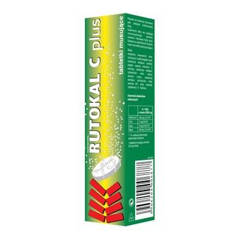 Rutokal C Plus, tabletki musujące, 20 szt.