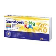 Sundovit D3+Mg+K2+B6, tabletki, 30 szt.