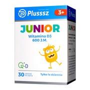 Plusssz Junior D3, tabletki do ssania, smak pomarańczowy, 30 szt.