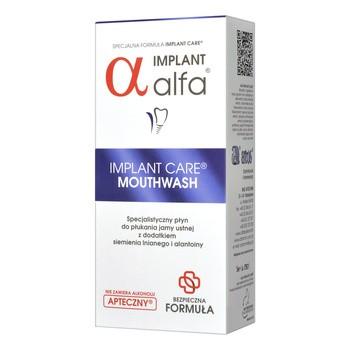 Implant Alfa, płyn do płukania jamy ustnej, 200 ml