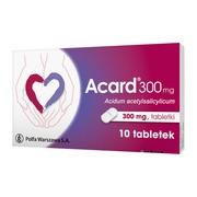 Acard, 300 mg, tabletki, 10 szt.