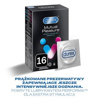 Durex Mutual Pleasure, prezerwatywy, 16 szt.