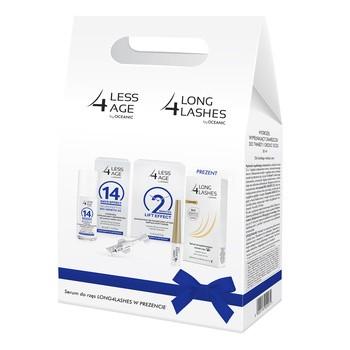 Zestaw Promocyjny Less 4 Age, koncentrat, 5 x 0,5 g + hydrożel, 30 ml + Long 4 Lashes serum do rzęs, 3 ml GRATIS