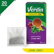 Verdin fix z Earl Grey, zioła do zaparzania, saszetki, 20 szt.