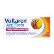 Voltaren Acti Forte, 25 mg, tabletki powlekane, 10 szt.