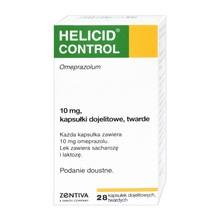 Helicid Control, 10 mg, kapsułki dojelitowe, twarde, 28 szt.