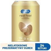Durex Real Feel, prezerwatywy, 24 szt.
