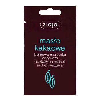 Ziaja Masło Kakaowe, kremowa maseczka odżywcza, 7 ml