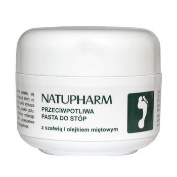 Natu-Pharm, przeciwpotliwa pasta do stóp, 50 g