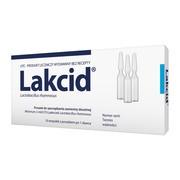 Lakcid, liofilizat do sporządzania zawiesin doustnych, 10 szt.