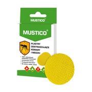 Mustico, plastry odstraszające komary i meszki, 12 szt.