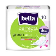 Bella Perfecta Ultra Green, ultracienkie podpaski, bezzapachowe, 10 szt.