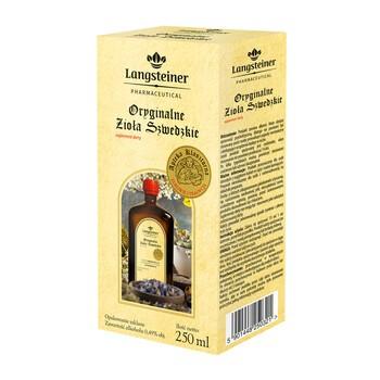 Langsteiner Oryginalne Zioła Szwedzkie, płyn, 250 ml