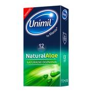 Unimil Natural Aloe, prezerwatywy, 12 szt.