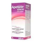 Apetizer Senior, syrop, smak malinowo-porzeczkowy, 100 ml