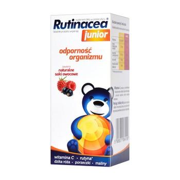 Rutinacea Junior, syrop, naturalne soki owocowe, 100 ml