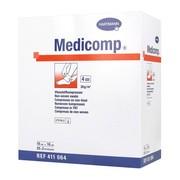 Kompres włóknisty jałowy Medicomp, 4 warstwowe, 10 cm x 10 cm, 50 szt.