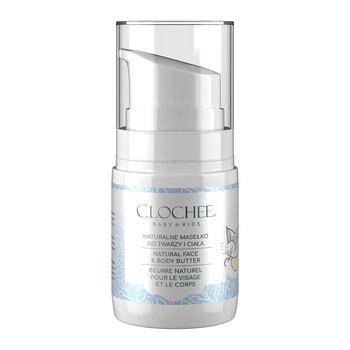 Clochee Baby & Kids, naturalne masełko do twarzy i ciała dla dzieci, 50 ml