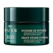 Nuxe Bio, mikrozłuszczająca maska oczyszczająca, proszek z pestek owocowych, 50 ml