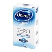 Unimil Zero, prezerwatywy lateksowe, ultracienkie, 10 szt.