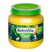 BoboVita Bio, obiadek cielęcinka z brokułami i ziemniaczkami, 5 m+, 125 g