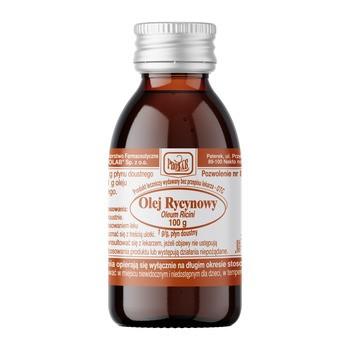 Oleum Ricini, płyn, 100 g (Prolab)