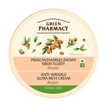 Green Pharmacy, przeciwzmarszczkowy krem tłusty, argan, 150 ml