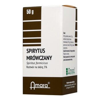 Spirytus mrówczany, płyn, 50 g (Amara)