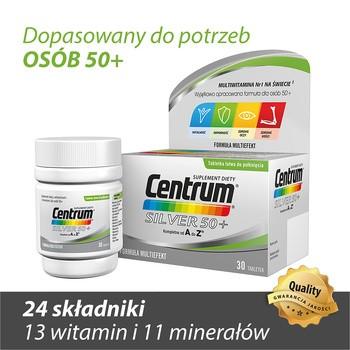 Centrum kompletne od A do Z Silver 50+, tabletki, 30 szt.