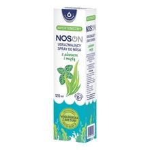 Noson, udrażniający spray do nosa z aloesem i miętą, hipertoniczny, 120 ml