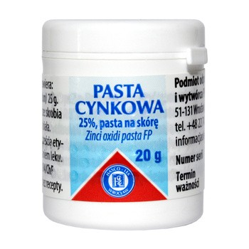 Pasta cynkowa, 20 g (Hasco)