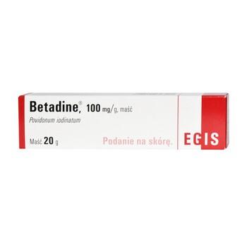 Betadine, 10%, maść antyseptyczna, 20 g