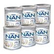 Zestaw 6x Nestle Nan Optipro Plus 3 HM-O, mleko modyfikowane Junior dla dzieci po 1 roku, 800 g