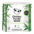 Cheeky panda, papier toaletowy z bambusa, trójwarstwowy, 4 szt.