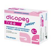 Dicopeg Junior Free, proszek, 5 g, 14 saszetek