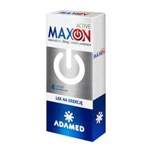 Maxon Active, 25 mg, tabletki powlekane, 4 szt.