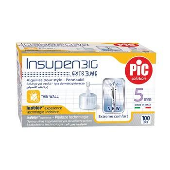 Insupen, igły do wstrzykiwań insuliny, 31G x 5 mm, 100 szt.