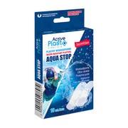 Active Plast, Plastry Wodoodporne Aqua Stop, 10 szt.