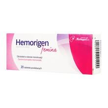 Hemorigen femina, tabletki powlekane, 20 szt.